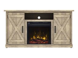 Comfort Smart Killian Electric Fireplace TV Stand, Ashland P