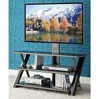"""3-in-1 TV Stand up to 50"""" Modern Media Furniture Unit Table"""