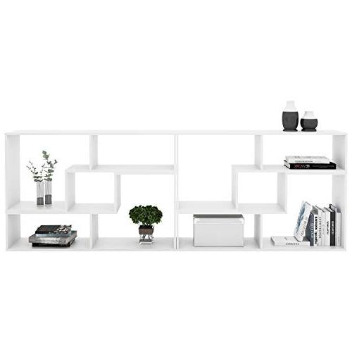 DEVAISE Versatile Stand Bookcase Display Black