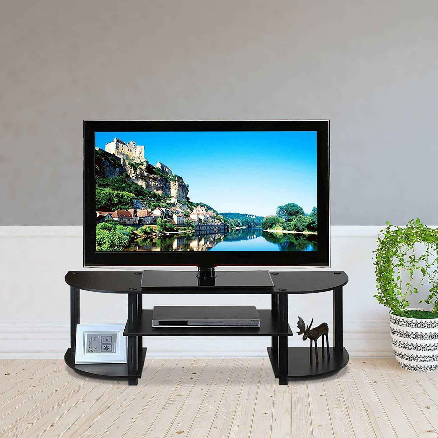 Tv Stand For Inch Flat With Mount Entertainment Storage