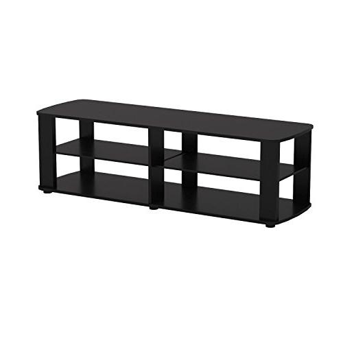 Furinno 11191BK Entertainment Center Black
