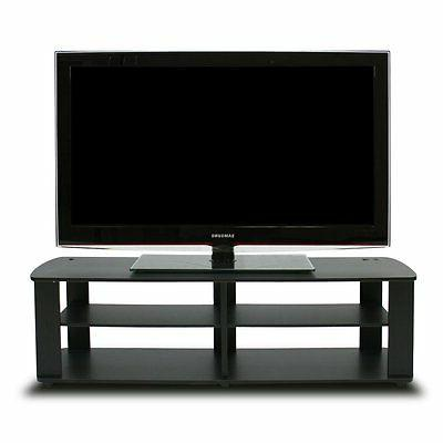11191bk center tv stand