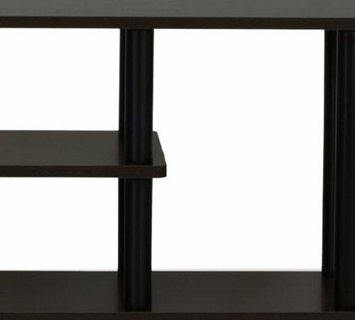 """55"""" TV Console Shelves Drawer Wood"""