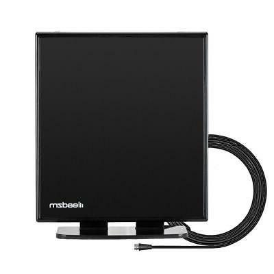 150Mile 1080P Indoor TV Antenna HDTV 4K Stand Base