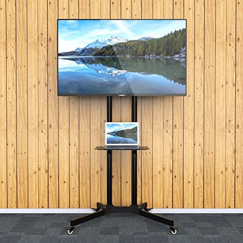1homefurnit Mobile TV Cart TV with Display Trolley Plasma/LCD/LED