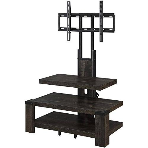 Whalen 3 Stand with for TV's up Weathered dark