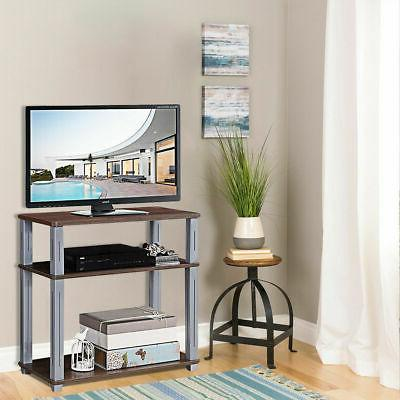 3-Tier TV Stand Component Console Multipurpose Display Rack
