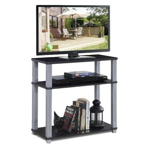 3-Tier Media Stand Component Multipurpose Display