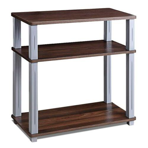 3-Tier TV Component Console
