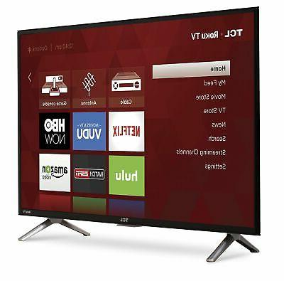 TCL 32 Class HD Roku LED 32S301 HDMI Wifi Home