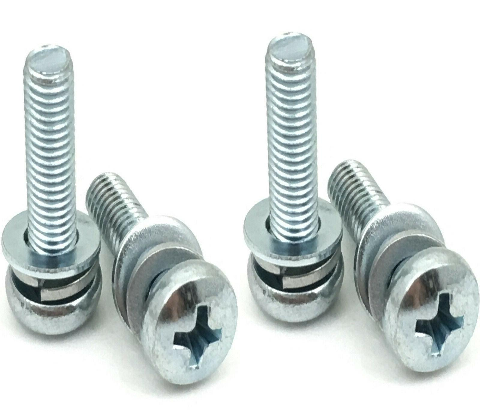 4 New Sharp TV Base Stand Screws For Model LC-58Q7370U, LC-5
