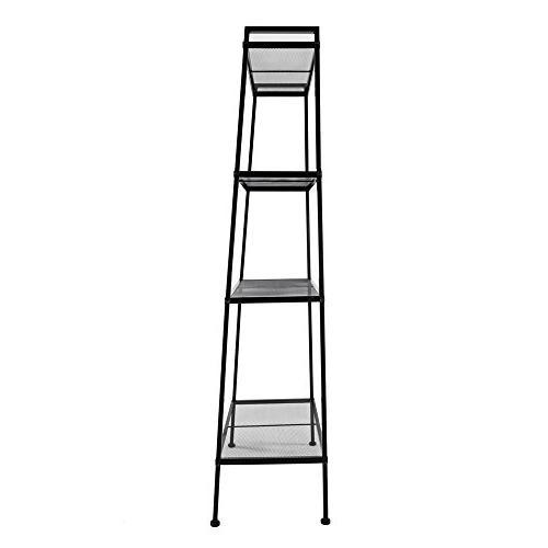 Space Tier Ladder Shelf Flower Stand Storage Rack Bookshelf