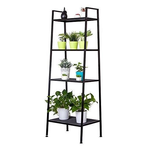4 tier ladder shelf multifunctional