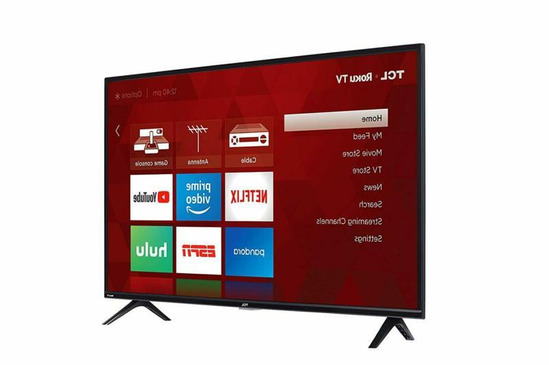 TCL 40 TV 49 Inch 40S325 with Modern