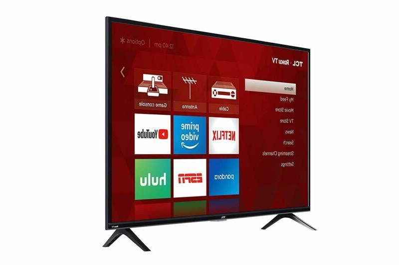 TCL Inch HD Smart TV 2019 49 Inch 40S325 Modern