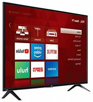 TCL 40S325 Inch 1080p Smart LED Roku TV Remote and Stand