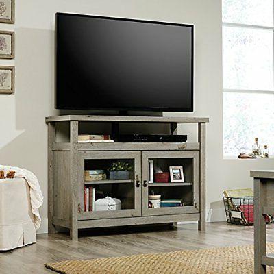 Sauder 422481 Cottage Road Tv Stand, Mystic Oak Finish