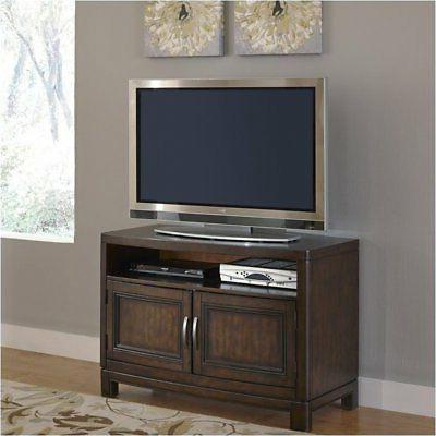 "Hawthorne Collections 44"" TV Stand Two Tone Tortoise"