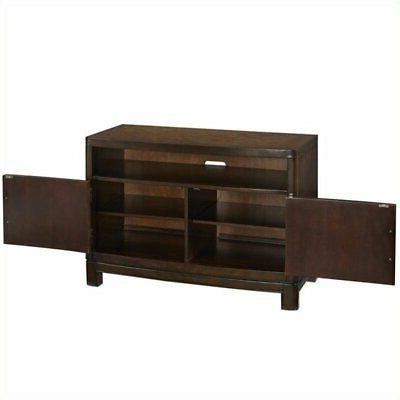 44 tv stand in two tone tortoise