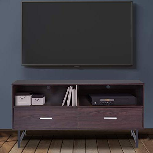 HOMCOM Modern with Storage - Coffee/Black
