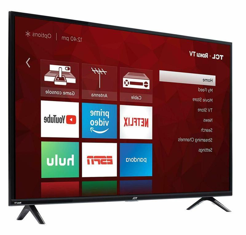 TCL 1080p Smart Roku LED TV