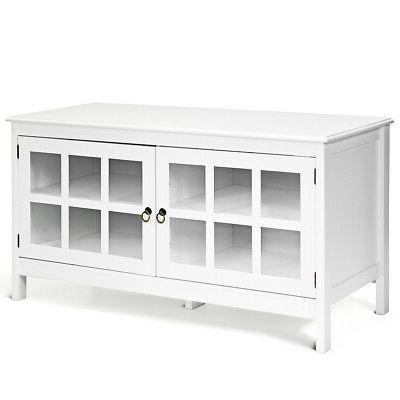 """50"""" Modern TV Stand Console Entertainment Center Cabinet"""