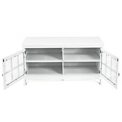 """50"""" Modern TV Console Cabinet w/Double"""