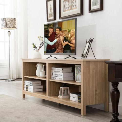 """58"""" LED TV Stand Cabinets with Doors"""