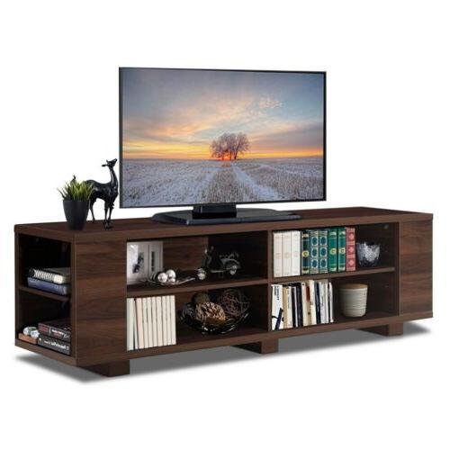 "59"" Console Wood Storage Cabinet Furniture"