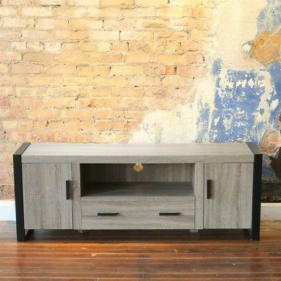 "Walker Edison Furniture 60"" Wood Console Media TV Stand - Dr"