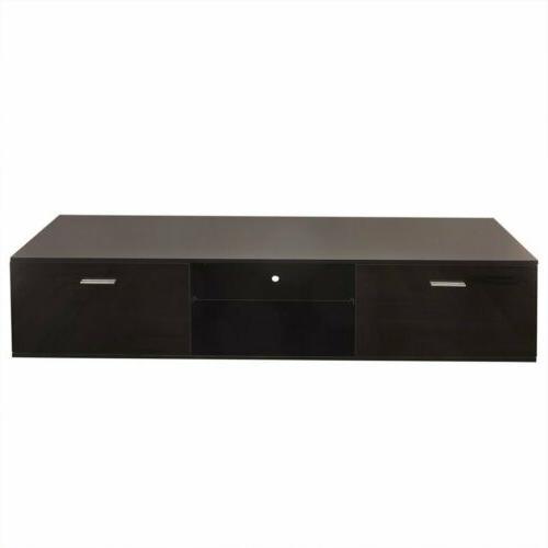 High Gloss Shelves Cabinet Console MX