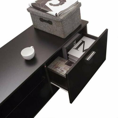 High Shelves Cabinet with 2 Console MX