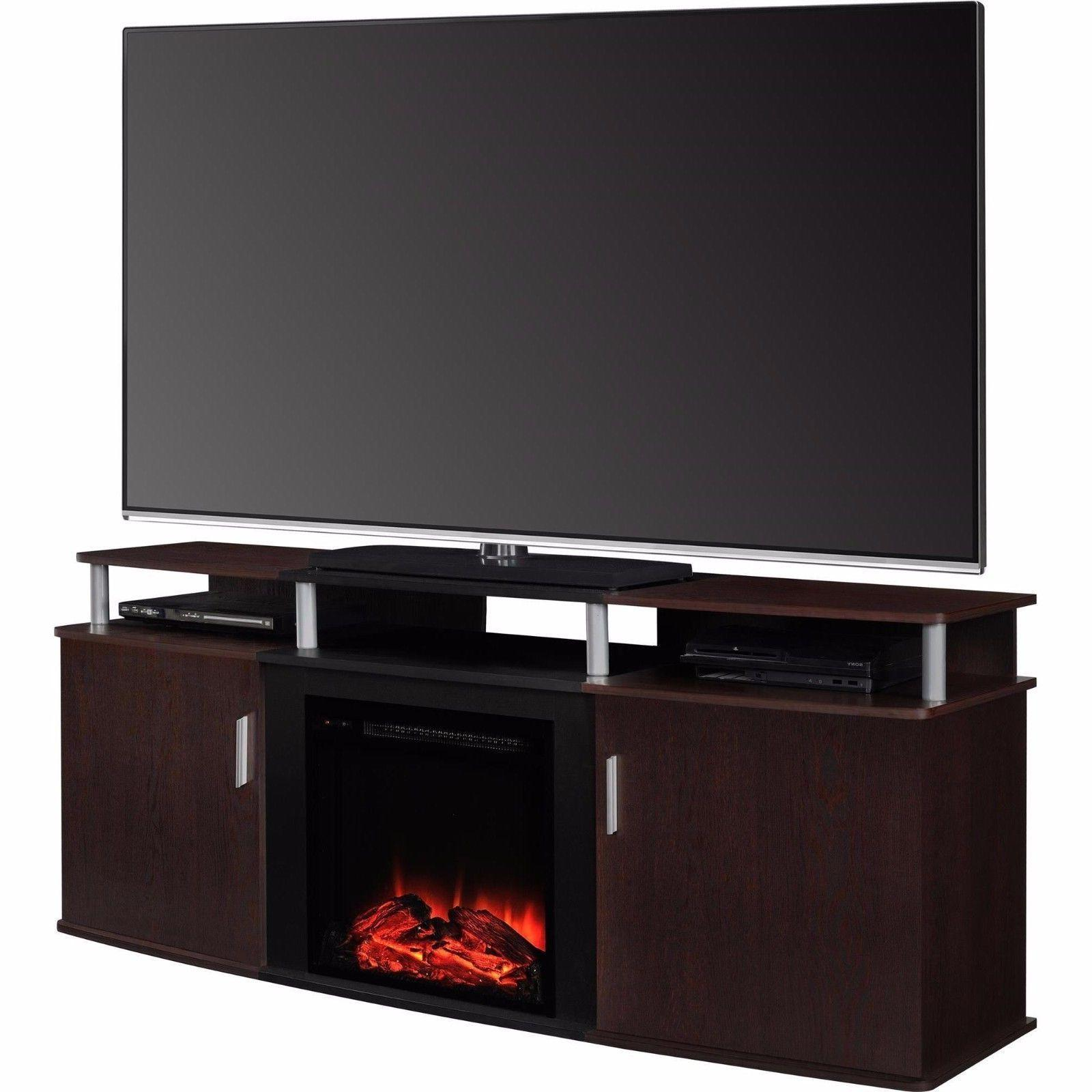 65 inch tv stand fireplace electric heater