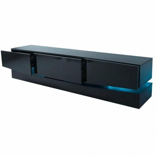 70 Inch TV Stand LED Drawers