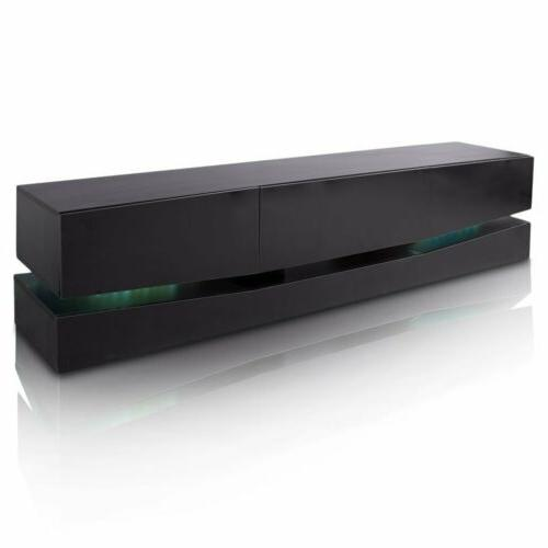 70 TV LED Wall Mount Entertainment Stand Large Drawers EK