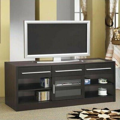 700650 contemporary tv console