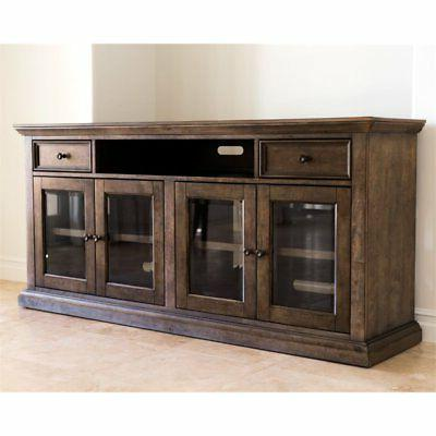 """Hawthorne Collections 75"""" Stand in Brown"""