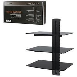Cmple - Wall Mounted AV Component Shelving System with 3 Adj