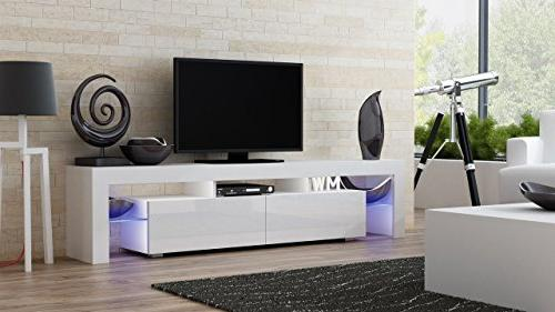 Concept Milano 200 / LED Cabinet/Living Furniture/Tv fit for up 90-inch Screens/High Tv for