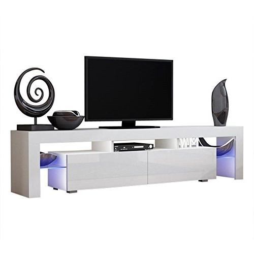 Concept Muebles Stand Milano 200 Furniture/Tv fit up to TV Screens/High Capacity Tv for Modern