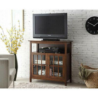 Convenience Concepts Contemporary Big Sur Highboy TV Stand,