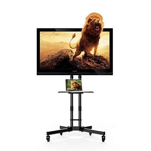 "Fleximounts for 32-65"" with Shelf, VESA TV Cart Hold up lbs lbs Shelf"