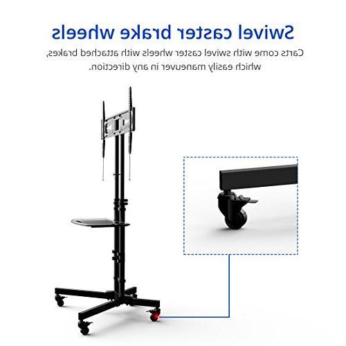 "Fleximounts Stand for 32-65"" Flat Screen with Single VESA lbs Shelf"