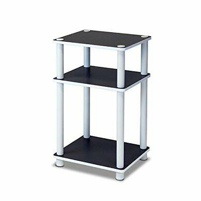 Furinno 11087 Just 3-Tier No Tools Dual Color Reversible End