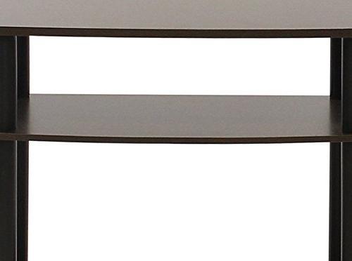 Furinno 13192EX/BK Tools 3-Tier Espresso/Black