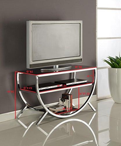 Kings Brand Furniture Metal Shelves Chrome