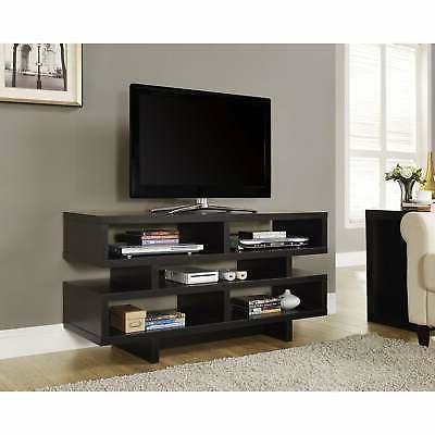 """Monarch Specialties I 2460, TV Console, Cappuccino, 48"""" L"""
