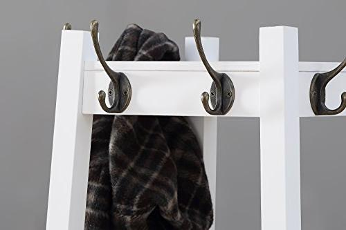 Roundhill Furniture Rack with Shelves,