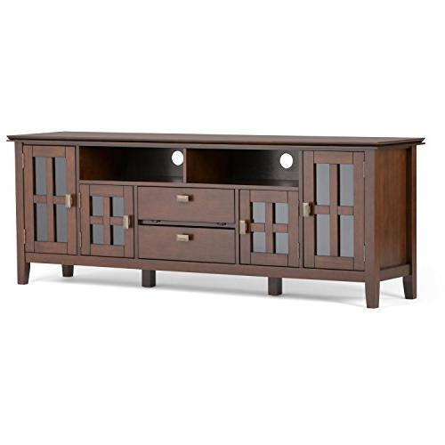 Simpli Home - Artisan Tv Stand For Most Flat-panel Tvs Up To