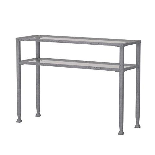 Southern Enterprises Glass Console Finish